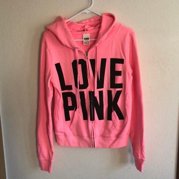 fbae625cfca17 Victorias Secret Pink hoodie
